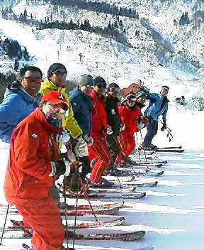 スキー大学in上越国際